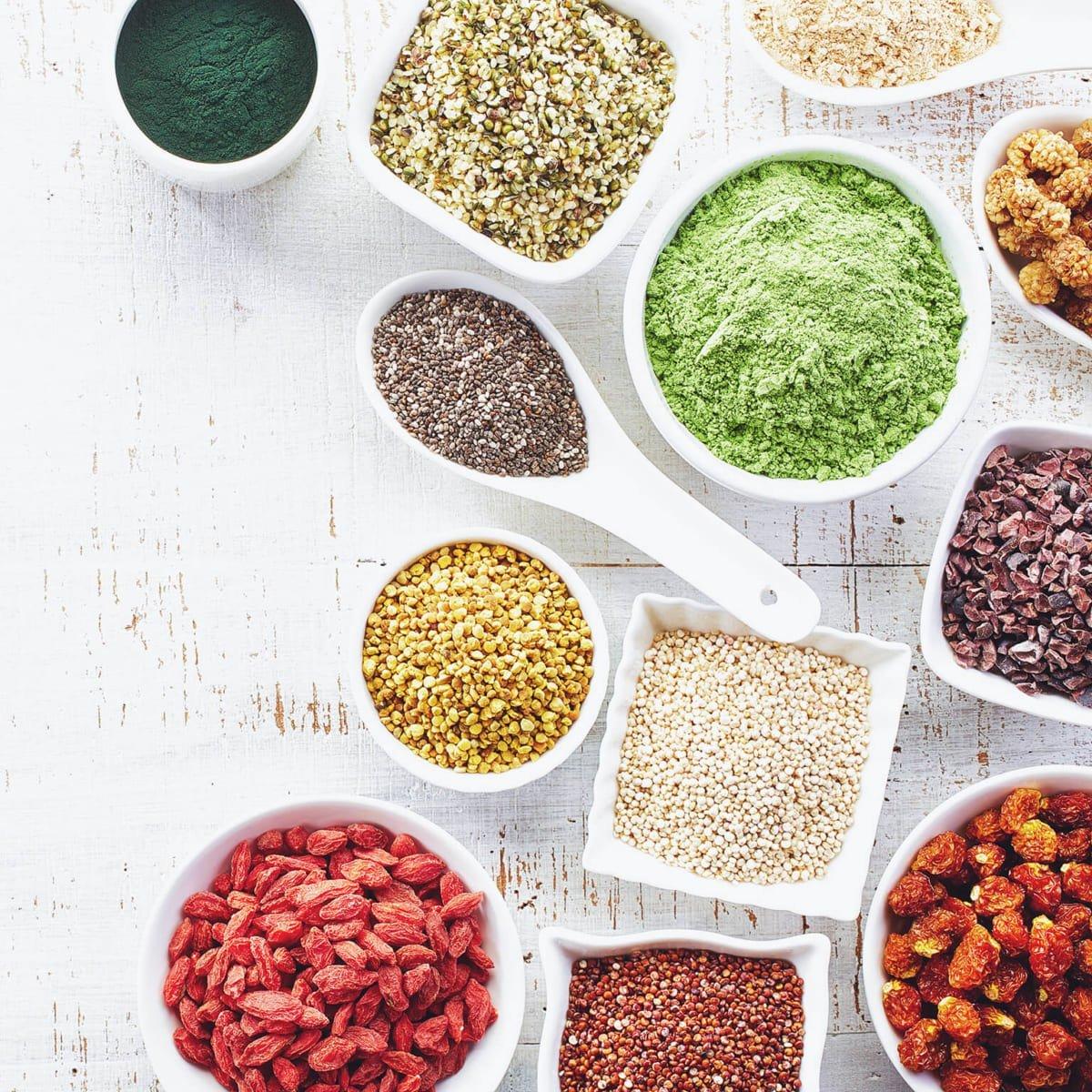 Bột ngũ cốc làm từ các loại hạt giàu chát dinh dưỡng